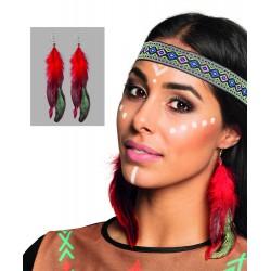 Collier ou boucles d'oreilles indien