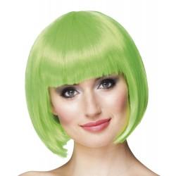 Perruque crazy vert anis