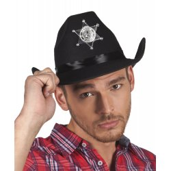 Chapeau Sheriff adulte