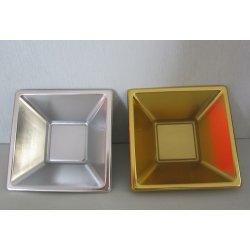 Coupelle carrée Or ou Argent