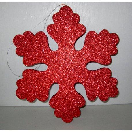 Flocon Rouger polystyrène pailleté