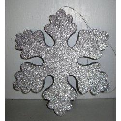 Flocon Argent polystyrène pailleté