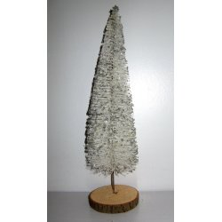 Sapin de table blanc
