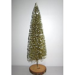 Sapin de table or