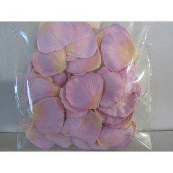 Pétales tissu 4 cm lilas