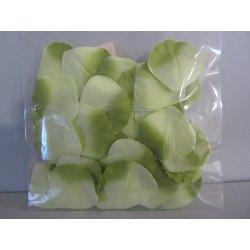 Pétales tissu 4 cm vert