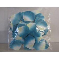 Pétales tissu 4 cm turquoise