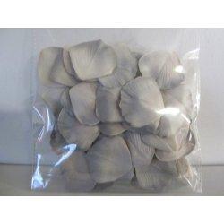 Pétales tissu 4 cm gris