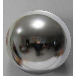 Boules de noël géantes argent 25 cm