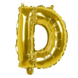 Ballons lettres en alu Or 30 cm
