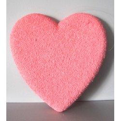 Coeur rose 25 cm à pendre
