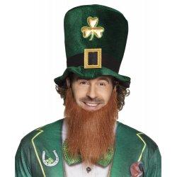 Chapeau vert avec barbe