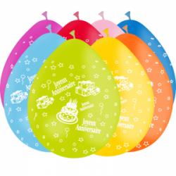 Ballons imprimés anniversaire 360°