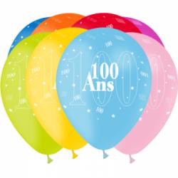Ballons imprimés Jubile anniversaire 360°