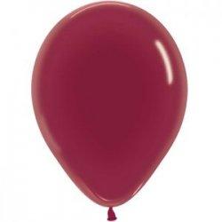 Ballons 30 cm Bordeaux et Turquoise