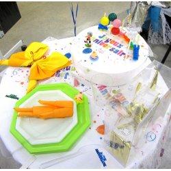 Table anniversaire d'enfant