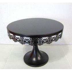 Présentoirs à gâteau en fer Noir 23 cm