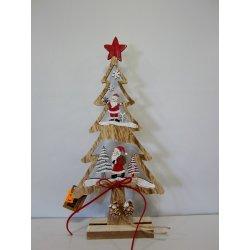 Sapins de noël en bois 30 cm