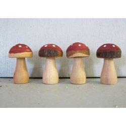 Champignons bois