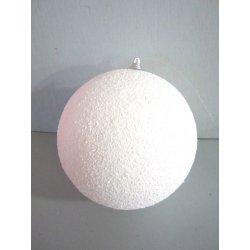 Boule de noël géante Blanche 18 cm