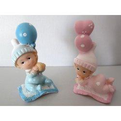 Figurines bébés Ballon