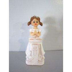 Figurine communiante Fille-Autel