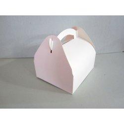 Boites patissières en carton blanc