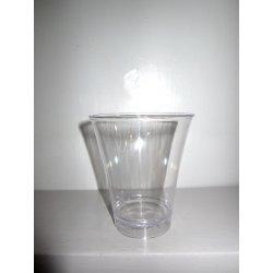 Verrines transparentes verres 15 cl