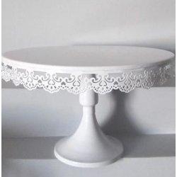 Présentoirs à gâteau en fer blanchi 18 cm