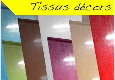 Tissus décors